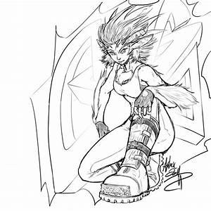 Chimera sketch 2 by AphexAngel on deviantART