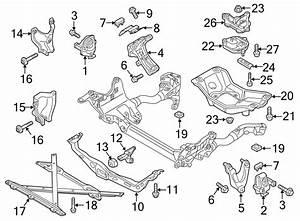 Audi Q5 Engine Mounts Diagram