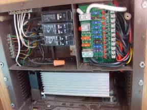 Wiring Diagram For Trailer Lights by Trailer 12v 120v Works All Lights Etc But Disconnect And