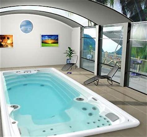 vasca idromassaggio spa per il nuoto luxe