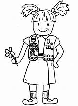 Scout Boy Law Coloring Pages Brownie Clipartmag sketch template
