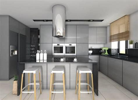 plan de travail de cuisine en quartz plan de travail cuisine 50 idées de matériaux et couleurs