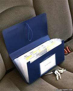 organize manage my car my mini home With vehicle document folder