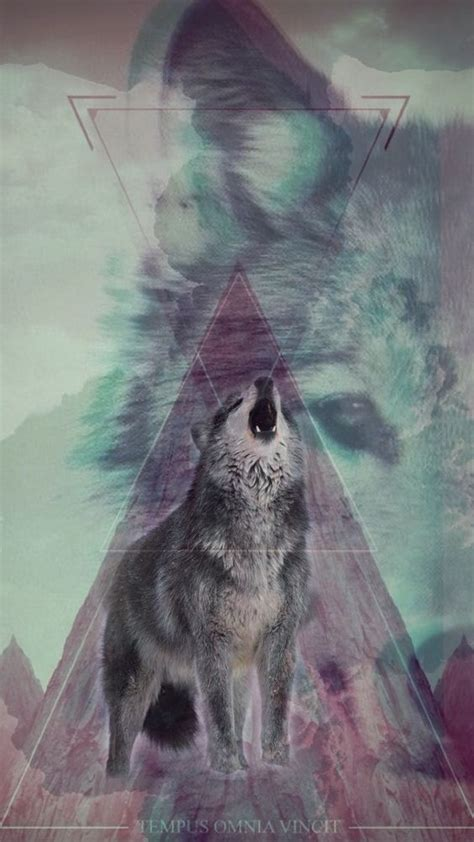 made a wolf wallpaper for my iphone 6 wallpapers