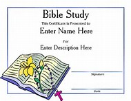 Best 25 ideas about bible study graphics find what youll love bible study certificate templates yadclub Choice Image