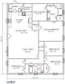 40x60 barndominium floor plans google search picmia