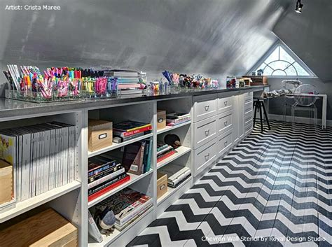 10 Super Cool Craft Rooms  Tauni + Co