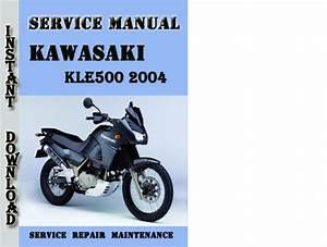 Kawasaki Kle500 2004 Service Repair Manual Pdf Download