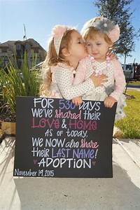 Hand Painted Adoption Day Sign, Painted Chalkboard Artwork ...