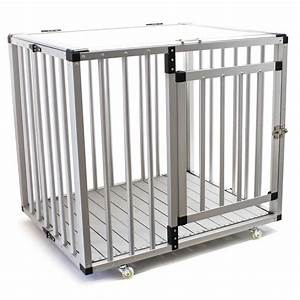 kennel big foldable dog cage travel crate gridbox alumdf With large travel dog cage