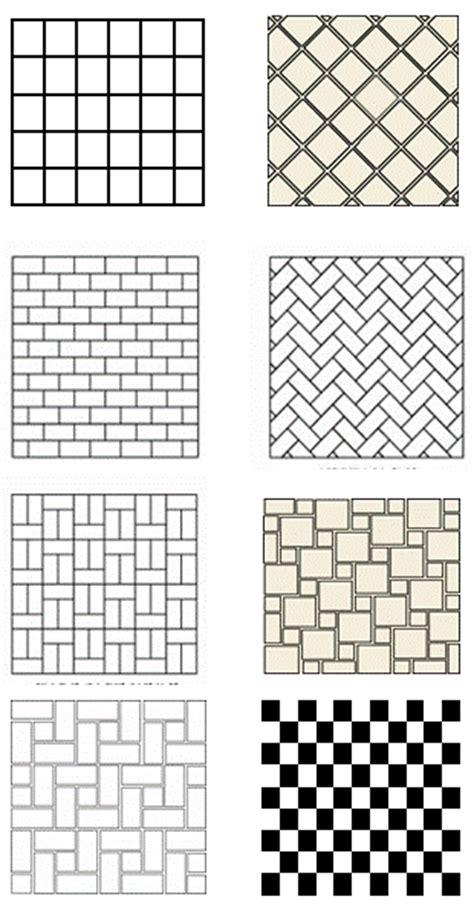 tile installation patterns for floors tile floor patterns to spark your bathroom tile design ideas
