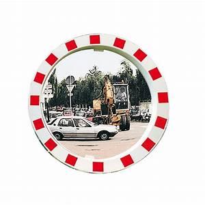 miroirs avec cadre rouge et blanc pour la securite sur les With miroir cadre rouge