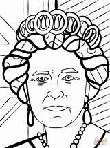 Queen Coloring Elizabeth Pages Britto Romero Printable Drawing Queens Ii Easy Template Crafts Clipartmag Colouring Draw Print Coloriage Pop La sketch template
