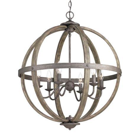 orbit chandelier progress lighting keowee collection 24 13 in 6 light
