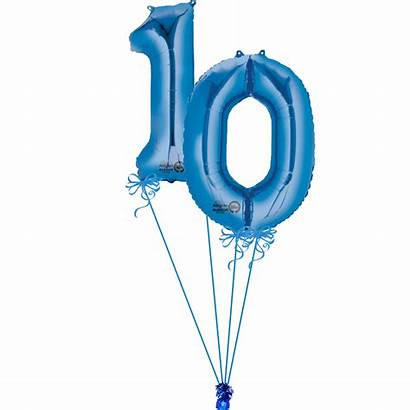 Balloons Numbers Giant Birthday Magic Copy 12th