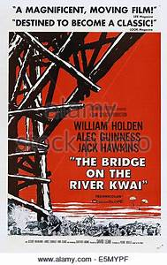 BRIDGE ON THE RIVER KWAI 1957 Columbia film with Alec ...