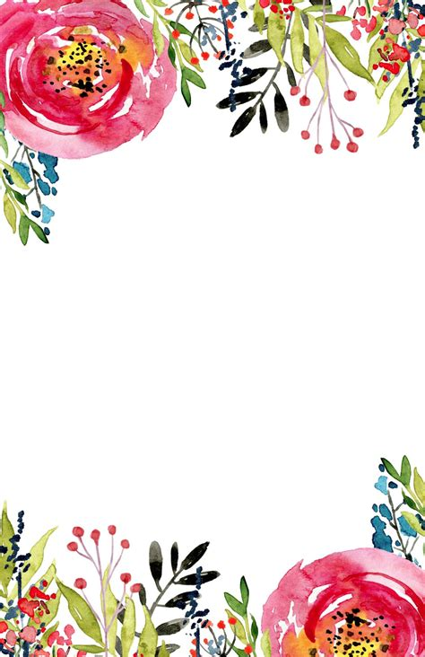 Floral Invitation Template {free printable Fondos para