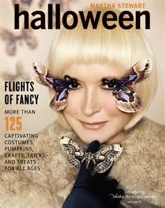Martha Stewart Wears A Butterfly Costume On The Cover Of