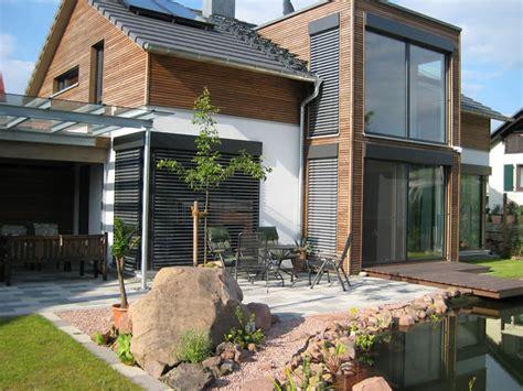 Haus Sandweg • Fertighaus Von Holzhaus Rosskopf • Modernes