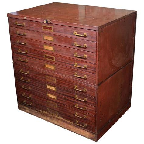 art flat file storage cabinets vintage art metal flat file storage cabinet with brass