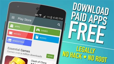 free on android how to get version paid apps for free in android