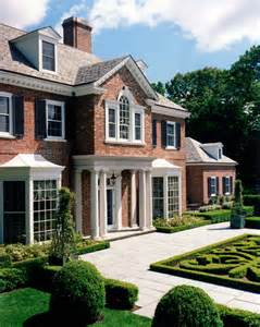 Traditional American Home Photo Gallery by American Brick Georgian Traditional Exterior New