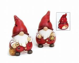 Wichtel Aus Tannengrün : windlicht wichtel nikolaus ton rot wei deko figur weihnachten 17 cm 2 stk ebay ~ Whattoseeinmadrid.com Haus und Dekorationen