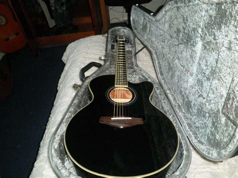 Yamaha Cpx500 Mk3,black Electro Acoustic Guitar With
