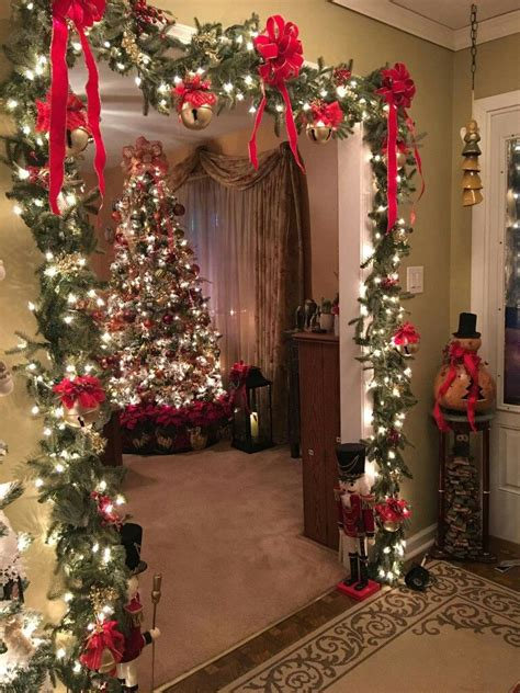 doors christmas christmas decorations