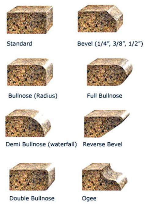 types of granite edges new granite this week modern