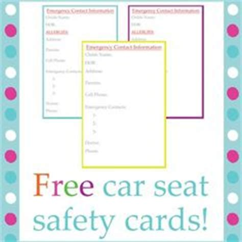 downloadable emergency car seat labels add text  adobe reader  print  write