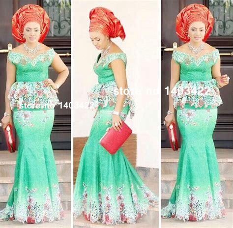 model de robe en tissu pagne