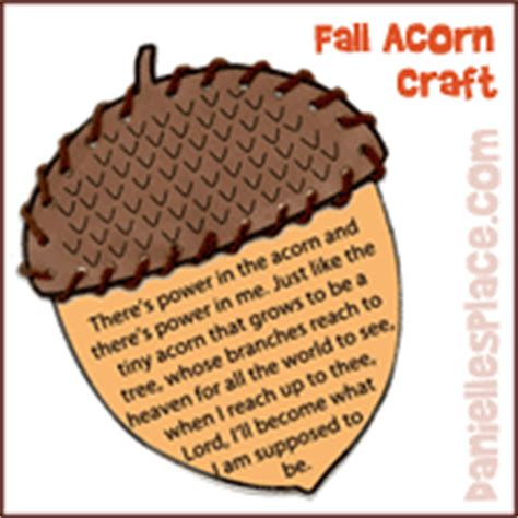 acorn and oak tree crafts and learning activities 726 | acorn power pic sm