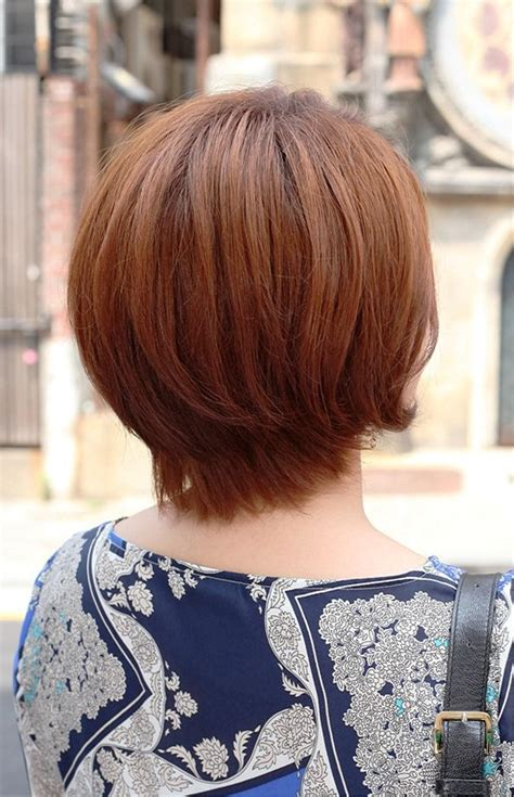 layered short hairstyles back view   Hairstyles & Fashions