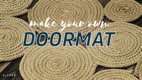 Make Your Own Doormat by Make Your Own Doormat Glamrs Home