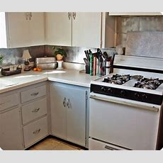 Cheap Backsplash  Diy  Pinterest