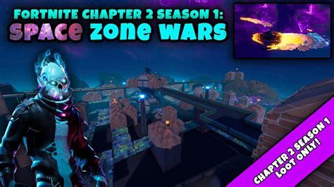 space zone wars map code fortnite chapter  season
