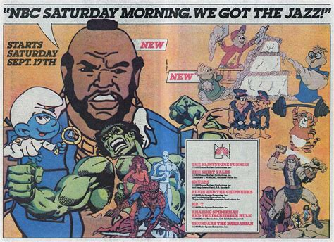 Saturday Morning Cartoons 1983 Abc And Nbc Ads Once