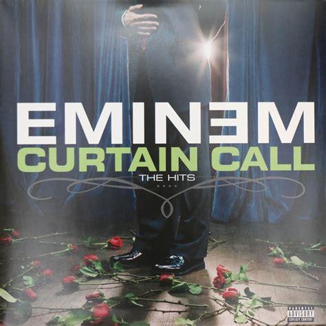 eminem curtain call eminem curtain call the hits vinyl lp at discogs