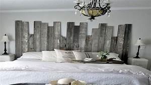 Fabriquer Une Tête De Lit : t te de lit originale fabriquer pour sa chambre ~ Dode.kayakingforconservation.com Idées de Décoration