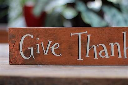 Thanks Give Sign Every