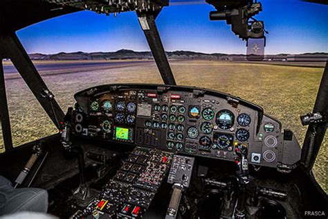 Bell 212/412 Simulator for Mexican Air Force