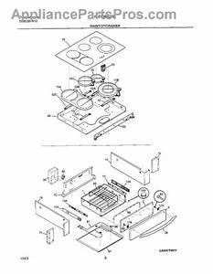 Frigidaire 318258201 Surface Element