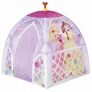 Tente Chambre Fille : ch teau tente de princesse installer dans une chambre de fille accessoires et decoration ~ Teatrodelosmanantiales.com Idées de Décoration