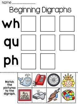 digraphs word sorts worksheets digraphs worksheets
