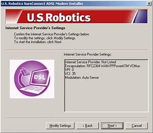 Usrobotics Sureconnect Adsl Usb Modem User Guide