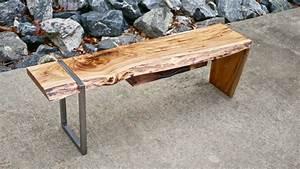 modern live edge waterfall coffee table how to build With waterfall edge coffee table