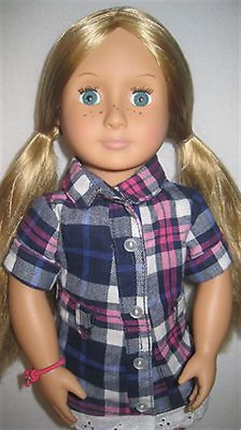 generation  shannon deluxe doll blond blue freckles