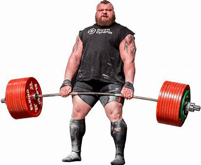 Strongman Eddie Hall Strength Training Deadlift Lifting