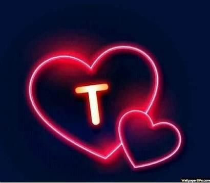 Dp Neon Heart Whatapp Aesthetic Alphabet Friends